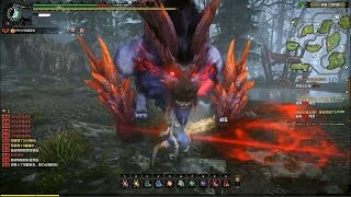 Monster Hunter Online - S Challenge Subspecies Slicemargl Greatsword Gameplay
