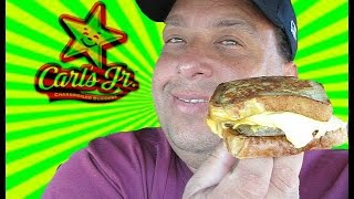 Carls Jr.® Cinnamon Swirl French Toast Breakfast Sandwich Review!