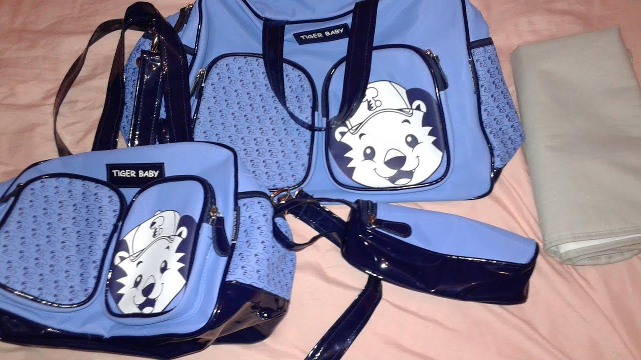 6550ad4c2 مستلزمات الرضيع | اختيار شنطة البيبي/ Baby bag - YouTube