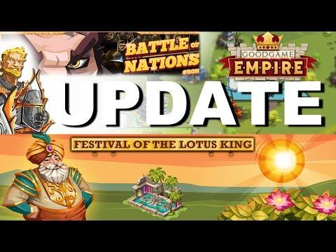 GGE Update Review - Sommer und Krieg | GOODGAME EMPIRE