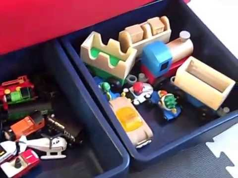 Little Tikes Americana Sort 'n Store Toy Chest Review