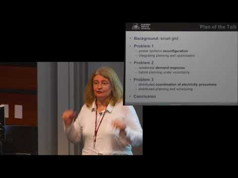 ICAPS 2017: Sylvie Thiébaux : Energy Systems: Challenges and Opportunities for ICAPS