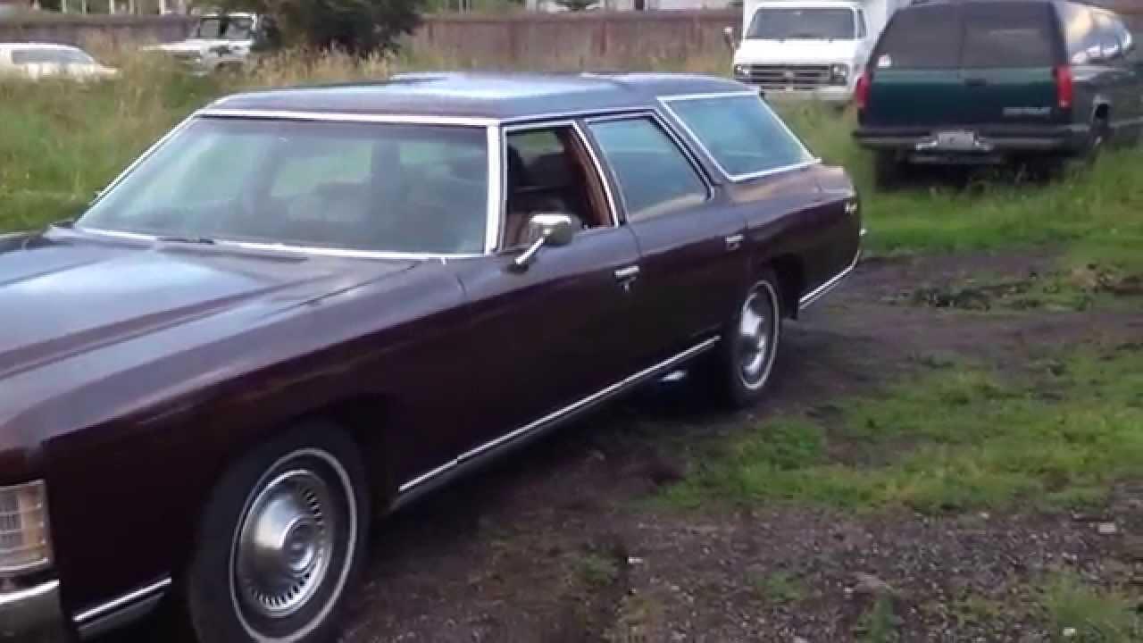 1971 Chevrolet Kingswood Impala wagon - YouTube