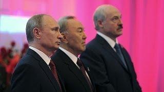 Путин, Лукашенко и Назарбаев подписали договор о создании ЕАЭС