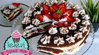 Çilekli Pasta Nasıl Yapılır? / Ayşenur Altan Pasta Tarifleri