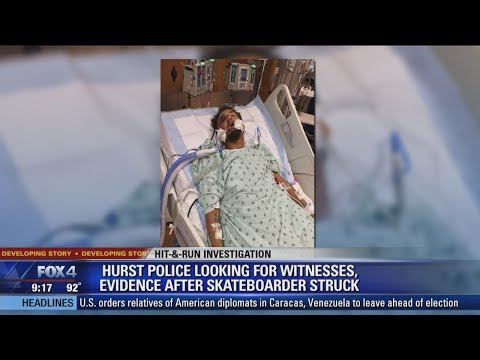 Hurst skateboarder critically injured in hit and run accident Mp3