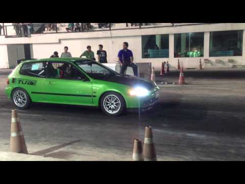 EG6 B16A Test 14.0 # Bangkok Drag Avenue By NoknamwaN