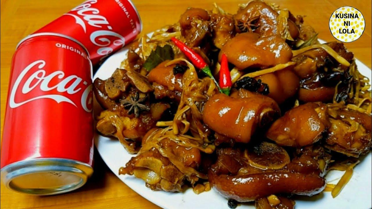 Simpleng Humba sa Coca-Cola! Ang Sarap! Taob Ang isang Kalderong Kanin Pag ganito Ulam Nyo!