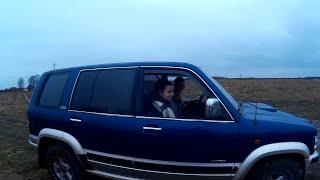 На Opel Monterey(Опель Монтерей) по полевой дороге