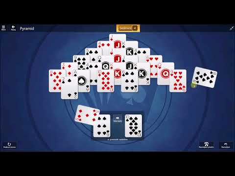 Microsoft Solitaire Collection - Pyramid November 9 2017