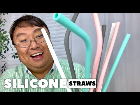 Reusable Silicone Drinking Straws Review