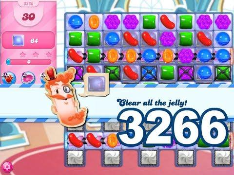 Candy Crush Saga Level 3266 (3 stars, No boosters)