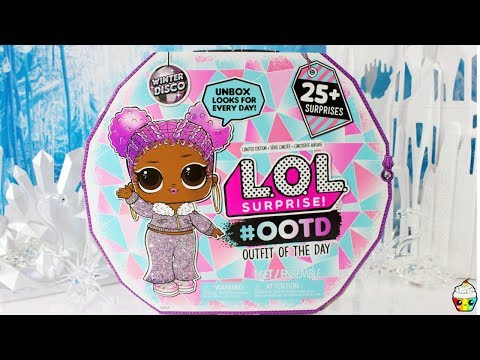 LOL Surprise NEW Winter Disco OOTD Advent Calendar Exclusive Doll