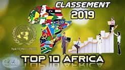 Voici Le Dernier Classement Officiel de l'ONU Des Pays Les Plus Développés d'Afrique