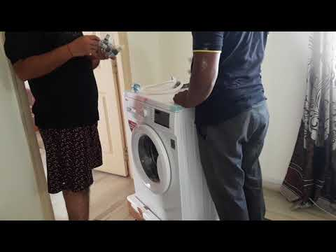 6 kg Fully-Automatic Front Loading Washing Machine (FH0H3NDNL02, White) Part 1