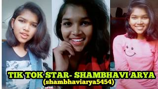 TIK TOK STAR SHAMBHAVI ARYA GREAT PERFORMANCE (PART 1)
