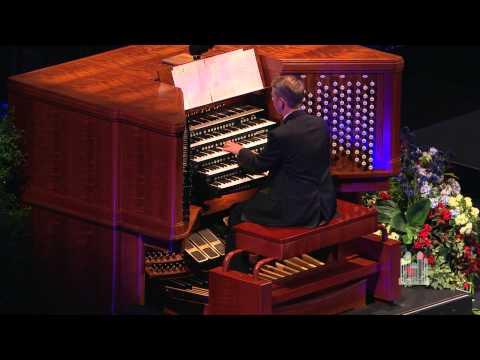 Amazing Grace (Organ Solo) - Mormon Tabernacle Choir