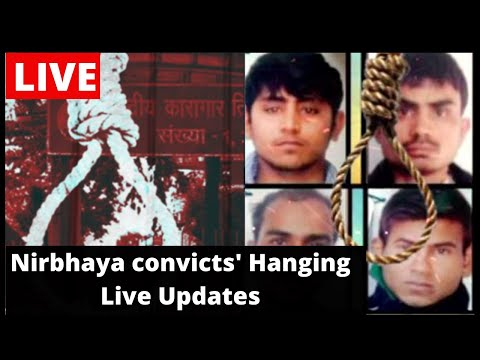 🔴Nirbhaya Convicts' Hanging Live: All 4 Convicts Hanged, Bodies Shifted To Hospital For Postmortem
