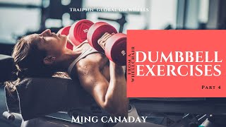 dumbbell exercises from a wheelchair, Part 4