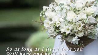 Beautiful in White - Shane Filan (with lyric) MP3