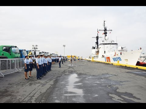 Why The Philippine Coast Guard welcomed arrival Vietnam Coast Guard patrol vessel CSB 8020 in Manila