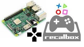Box de jeux vidéo retrogaming à 50€ | Raspberry Pi | Recalbox (+ de 40'000 rom de jeux compatibles)