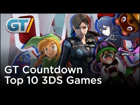 Top 10 3ds Games Youtube