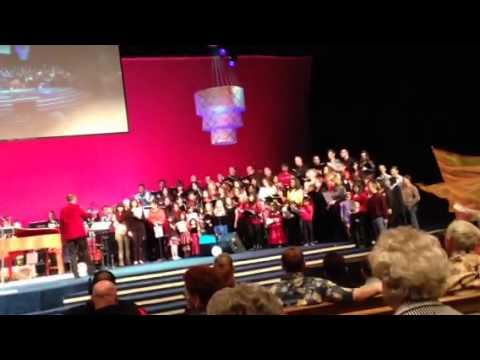 Harbor Light Church In Fremont 2013 Christmas Choir
