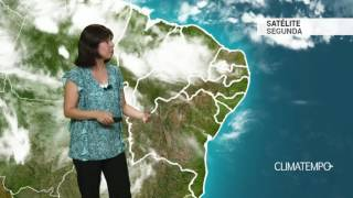 Previsão Nordeste – Chuva forte na costa leste