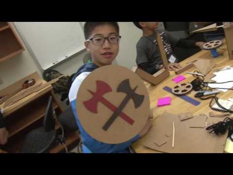 Cardboard Robots are the Best (Gifted Education Resource Institute at Purdue)