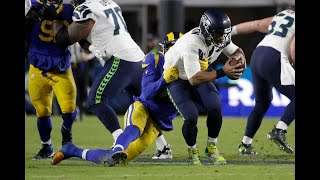 Duane Brown describes Seahawks' need for the running game after Rams swarm Russell Wilson