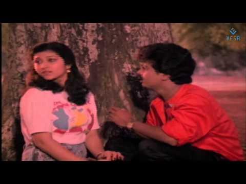 Chinna Chinna Aasaigal Movie - Pandiarajan & Malashri Park Scene