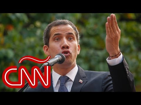 Repudian inhabilitación política de Juan Guaidó