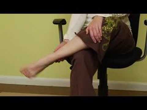 Office Chair Yoga Stretches : Office Chair Yoga: Ankle Stretches