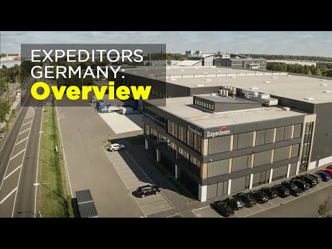 Expeditors' Germany Facility: Overview (English Subtitles)