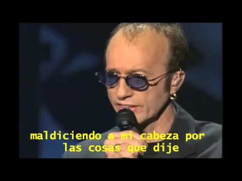 Bee Gees - I Started A Joke (Subtitulada en Español)