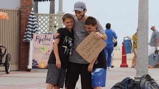 WHAT IF THE HOMELESS WANTED A HUG? (Social Experiment)