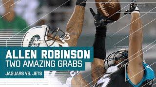 Allen Robinson Gets Back-to-Back Amazing Catches (Preseason) | Jaguars vs. Jets | NFL