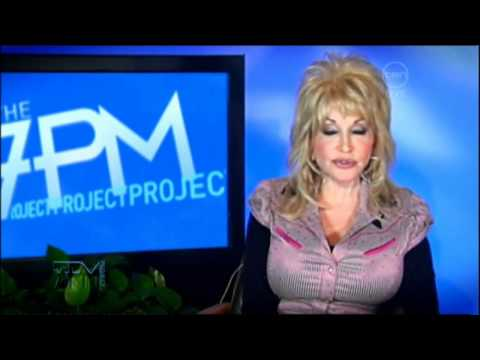 Dolly Parton Interview On The 7pm Project - Australia 2011 Tour