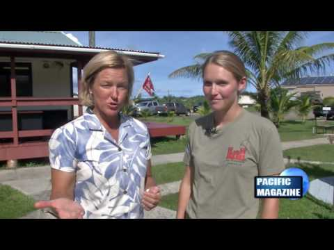 Amy Forsythe hosts Pacific Magazine from Palau