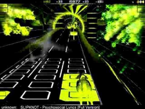 Audiosurf Slipknot - Psychosocial
