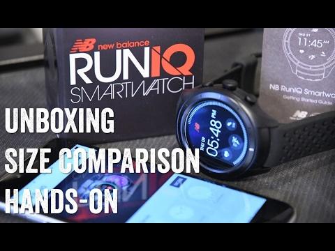 aeefa6c7b09aa NEW BALANCE RUNIQ! Unboxing, size comparisons, hands-on!