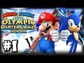 Mario & Sonic At the 2014 Sochi Winter Olympic Games - (1080p) Part 1