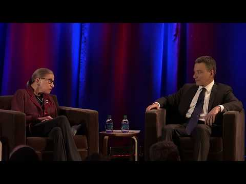 A Conversation with Justice Ruth Bader Ginsburg (HD)