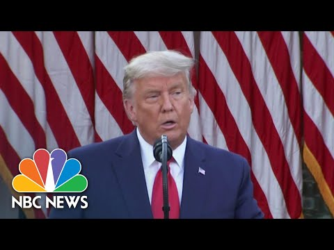 Trump Claims Covid Vaccine Will Be Provided 'Free Of Charge' | NBC News