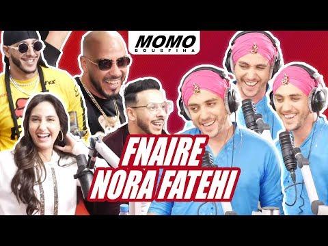 Fnaire et Nora Fatehi avec Momo -  نورة فتحي مع الفناير - الحلقة الكاملة