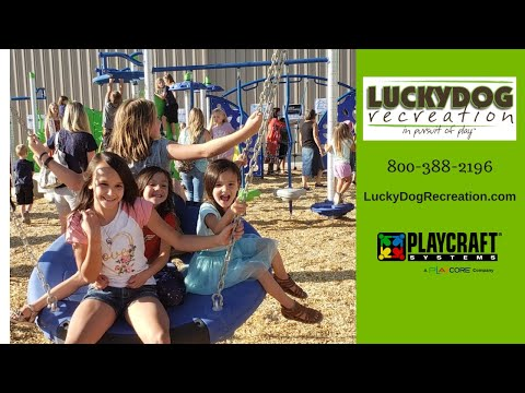 Watersprings School Playground Fun On New Commercial Playground Equipment - Idaho