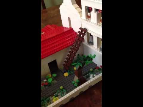 Lego Mission San Diego