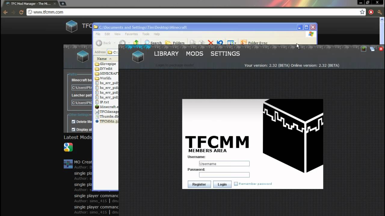 tfc mod manager download 1.7.3