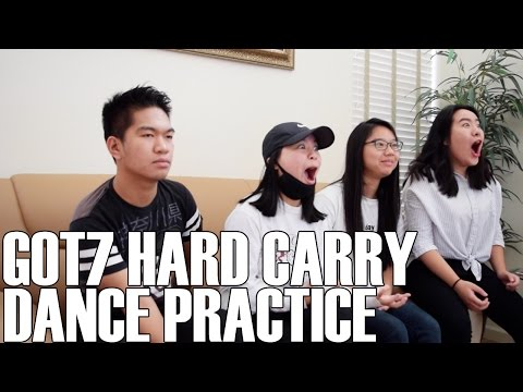 GOT7 (갓세븐)- Hard Carry Dance Practice (Reaction Video)